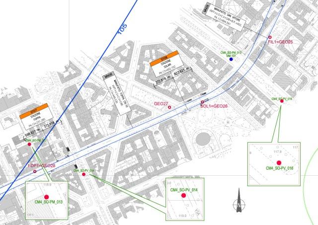 M4 Milano Foppa Dezza Solari metropolitana